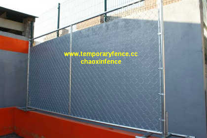 Temporary Chain Link Fence