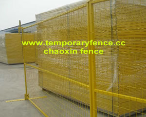 pvc temporary fence