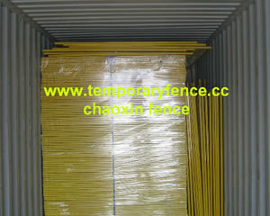 pvc temporary fence packing