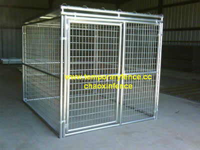 Temporary Dog Kennel Fencing