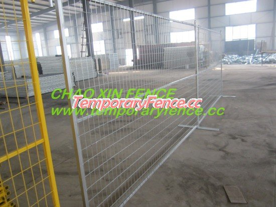 Hot galvanized temporary fencing